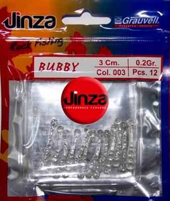JINZA ROCK FISHING BUBBY 3CM 003 12PCS