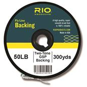 FLY LINE BACKING RIO 2-TONE GSP