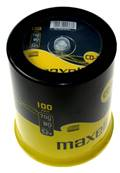 CD R 80 MAXELL SPINDLE 100 PCS.